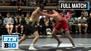 174 LBS: #6 Mikey Labriola (Nebraska) vs. #4 Dylan Lydy (Purdue)   2020 B1G Wrestling