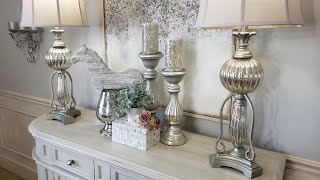 2020 SPRING DECORATING IDEAS/DINING ROOM/ENTRY FOYER/VALENTINES DAY DECORATING IDEA