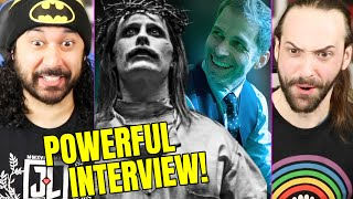 Snyder Cut | JOKER (JESUS) LOOK + NEW EYE-OPENING Zack Snyder Interview - REACTION! (Justice League) by The Reel Rejects