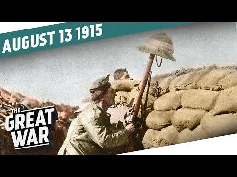 Němci se ženou vpřed - Velká válka