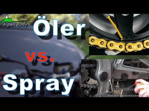 Kettenöler oder Kettenspray?! - motovlog#36