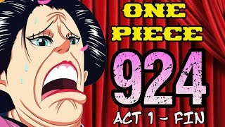 One Piece Chapter 924 Review