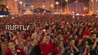 Croatia: Zagreb bursts with joy as Croatia beat Russia on penalties