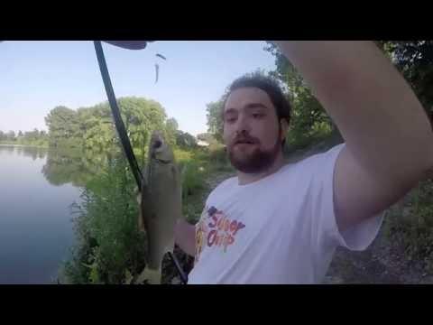 Giocare linverno in linea da pesca