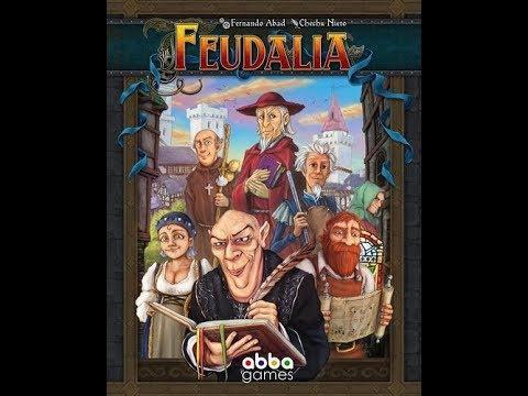 Bower's Game Corner: Feudalia Review