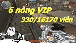 Kỷ Lục Đạn CFVN 6 Nòng VIP Hơn 16000 Viên - Tiền Zombie v4