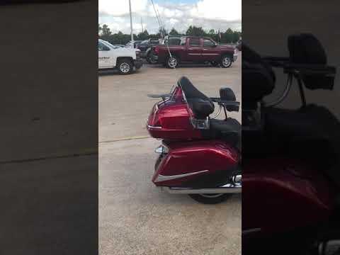 2012 Honda Gold Wing Airbag at Wild West Motoplex