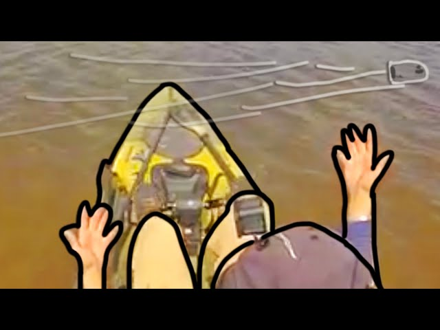 CALL THE COPS! Getting Shot at Captured on GoPro - Kayak Fishing Problems!