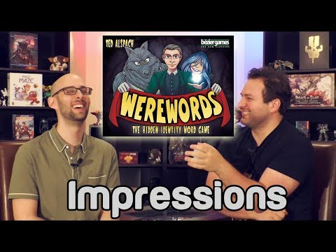 Werewords Impressions | Roll For Crit