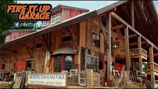 MASSIVE Architectural SALVAGE AND HISTORIC Building