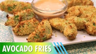 Baked Avocado Fries! Only 5 Ingredients!