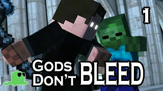 """""""Gods Don't Bleed"""" - EPIC FIGHT Minecraft Animation"""
