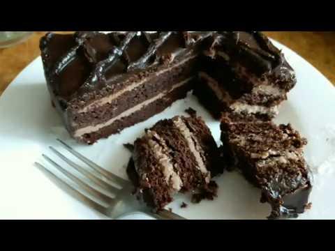 Торт Прага. Шоколадный торт Chocolate cake