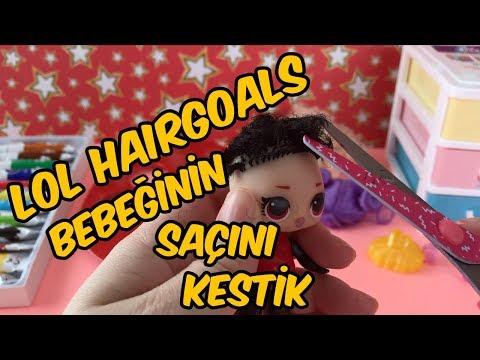 Lol Bebek Dönüşümü Hairgoals Bebeğinin Saçını Kestik Oyuncu Sobi