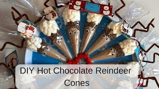 DIY Hot Chocolate Reindeer Cones (CoCoa)
