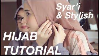 Tutorial Hijab Menutup Dada Ala Zaskia Sungkar