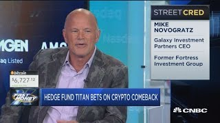 Hedge fund titan Mike Novogratz sees a 30% bitcoin rally by year-end