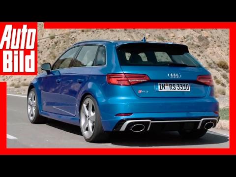 Vorstellung Audi RS 3 Sportback (2017) Erklärung/Details