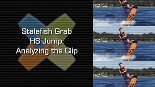 #13 Boat Wakeboard Intermediate – Stalefish grab HS jump