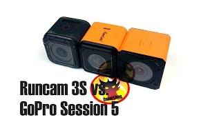 Runcam 3S vs. GoPro Session 5 HD Action Camera for FPV