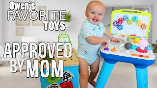 Baby Owen's First Toy Review - NAILED IT!
