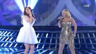 "Edea & Juliana Pasha - ""Simply the best"" - X Factor Albania 4 (Netet LIVE)"