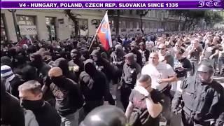 Visegrad 4 : Slovakia, Czech Rep., Hungary, Poland vs EU and Islam