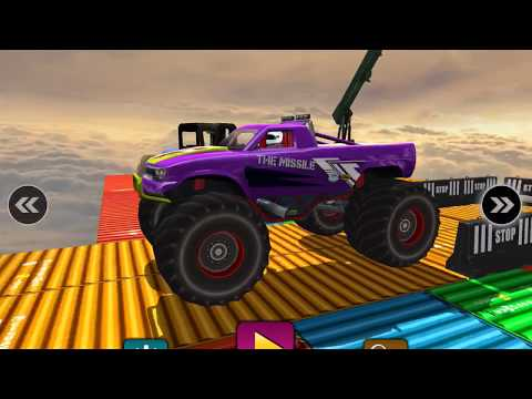 CRAZY MONSTER TRUCK LEGENDS DRIVING SIM 3D - Gameplay Walkthrough Part 3 - Hard Levels Unlocked