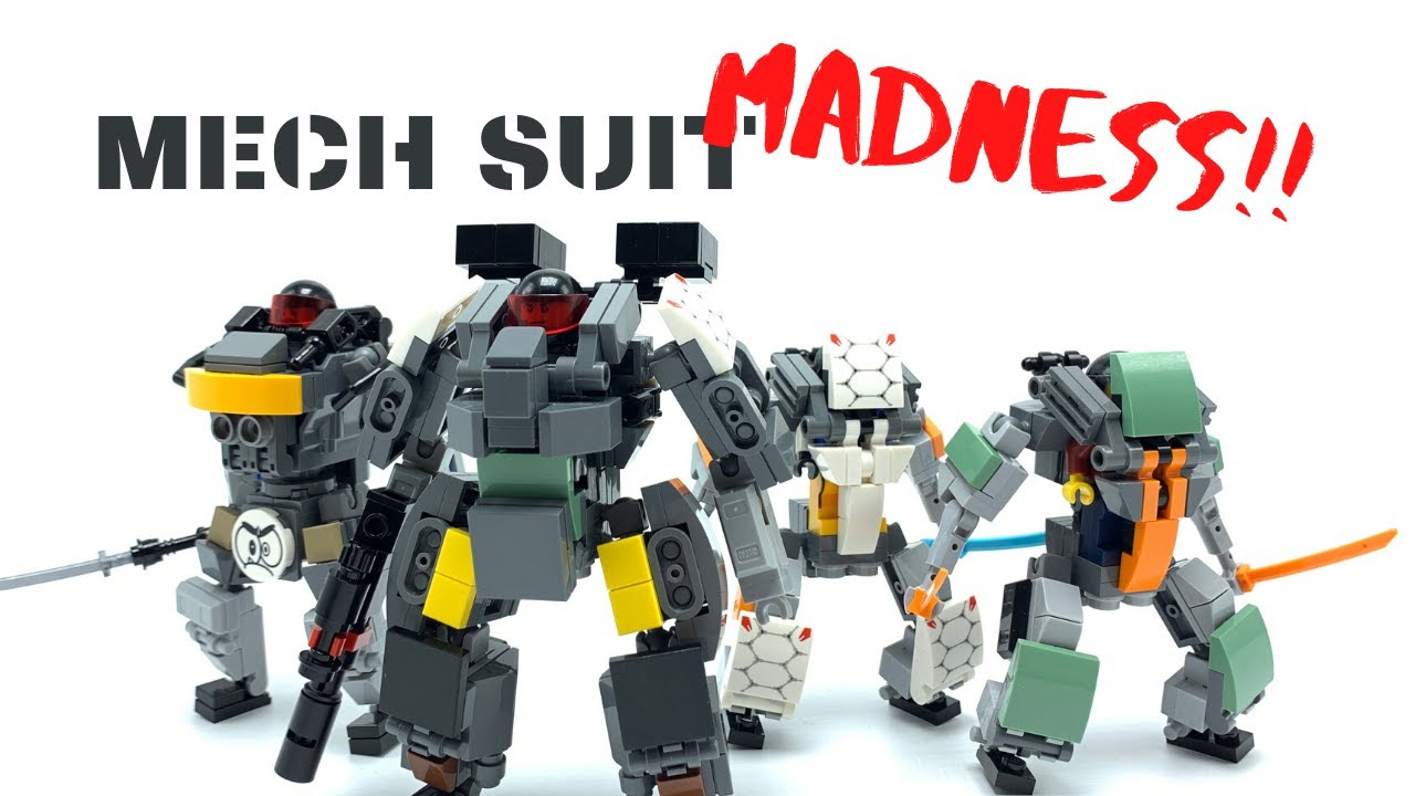 Lego MOCS by M1NDxBEND3R - MECH SUIT MADNESS!!! (Pt. 1)