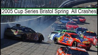 All NASCAR Crashes From The 2005 Food City 500