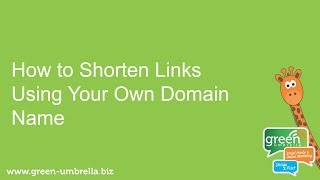 How to Shorten Links Using Your Own Domain Name