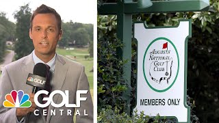 2020 Masters to be played without patrons | Golf Central | Golf Channel