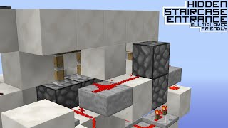 Hidden Redstone Staircase (any version)!