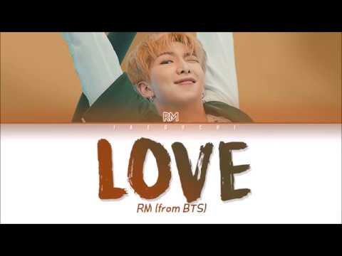 BTS (방탄소년단) - LOVE (Trivia 承) (Color Coded Lyrics Eng/Rom/Han/가사)
