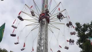 スイス発 ルツェルン秋祭り!超大型回転ブランコの『Condor』【スイス情報.com】