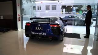 Lexus LFA Start up engine sound and rev