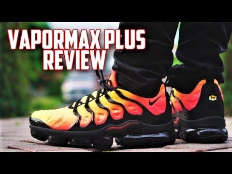 Air Black Vapormax On Feet Triple Nike Plus White Vs pfFWwqH