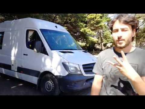 ¿Cómo funciona una furgoneta campervan? Depósitos de aguas, vaciado de aguas sucias
