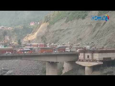 Jammu-Srinagar National Highway blocked after fresh landslide