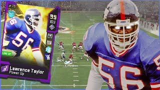 99 Lawrence Taylor Is The SCARIEST Card In The Game! (Madden 20)