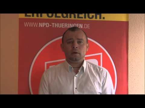 Neue Videobotschaft des Thüringer NPD-Spitzenkandidaten zur Bundestagswahl, 31.07.2013