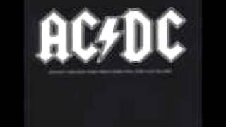 ACDC- Have a drink on me