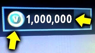 Winning 1,000,000 Free V Bucks! (Fortnite Golf)