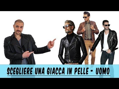 Scegliere una giacca in pelle per UOMO - Che Stile! Andrea Cimatti Video