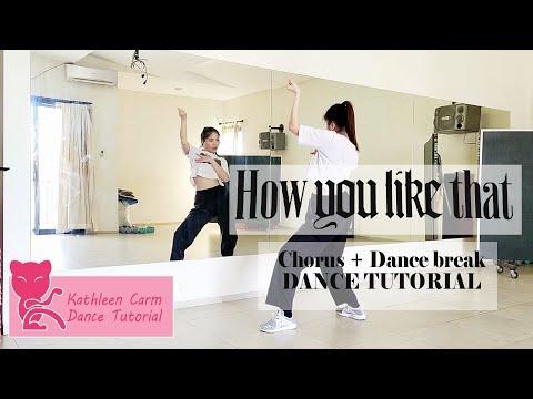 BLACKPINK - 'How You Like That' Dance Mirror Tutorial ( Chorus + Dance Break )