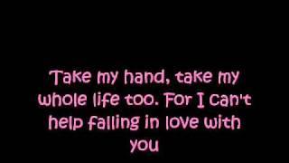 A-Teens - Can't Help Falling In Love [Lyrics] [HQ]