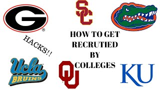 How To Contact a College Coach for Recruiting (Tips and Hacks!!) #NCAA #CollegeSports #Sports