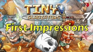 Tiny Gladiators - ACTION-PACKED RPG FIGHTING GAME FIRST LOOK COMMENTARY