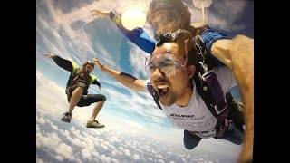 ACROPHOBIA : Challenge your fear...Skydiving 18000 feet