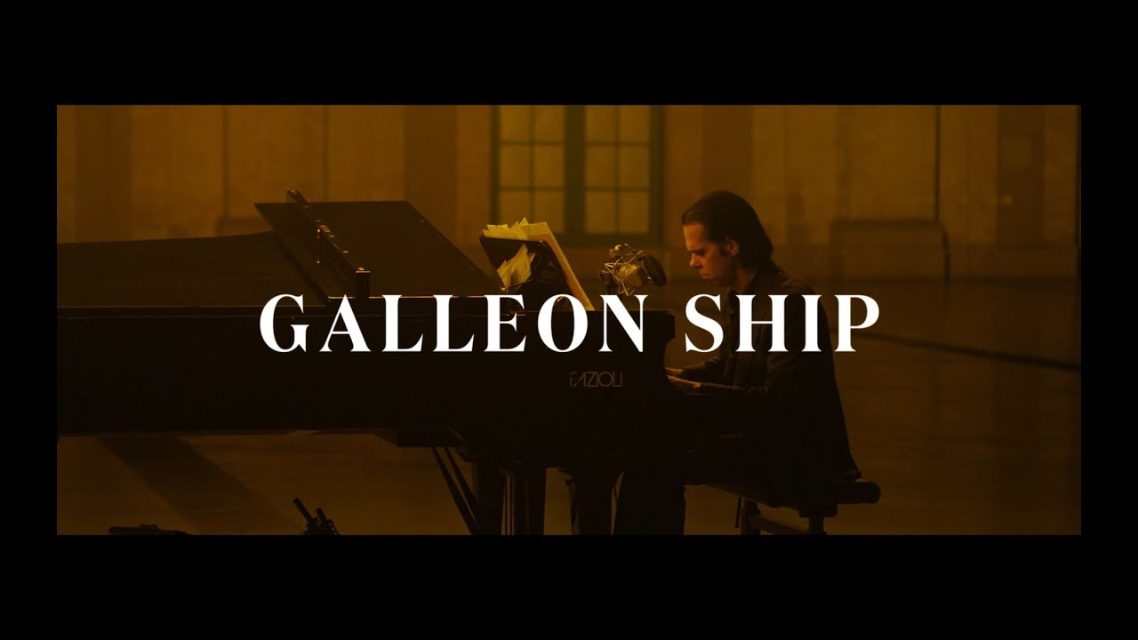 GALLEON SHIP: NICK CAVE ALONE AT ALEXANDRA PALACE